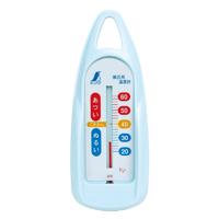 風呂用温度計 B 舟型 ブルー 72648 温度測定 健康管理 お風呂用 ベビー用品 シンワ測定