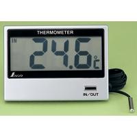 デジタル温度計 E 室内・室外 72947 シンワ測定