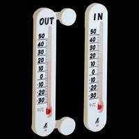 温度計 プチサーモ ツイン 室内・室外 72957 温度測定 外気温 シンワ測定