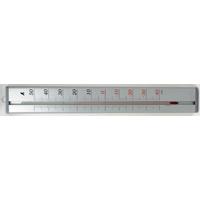 温度計 アルミ製 60cm 72992 健康管理 省エネ オフィス用 学校用 病院用 シンワ測定