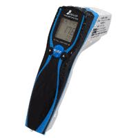 放射温度計 E 防塵防水 デュアルレーザーポイント機能付 放射率可変タイプ 73036 シンワ測定