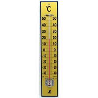温度計 木製 45cm 75919 健康管理 省エネ オフィス用 学校用 病院用 シンワ測定