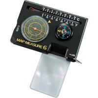 マップメジャー D 多機能型 71320 地図 コンパス 方位磁石 温度計 ルーペ キャンプ レジャー 登山 アウトドア ハイキング シンワ測定