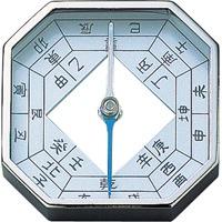 方向コンパス D 十二支 75604 コンパス キャンプ レジャー 登山 方位磁針 風水 建築 土地 シンワ測定