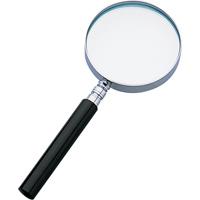 虫眼鏡 ルーペ A-2 リーディング用 プラ柄 65mm 2.5倍 75509 虫めがね 実験 検査 シンワ測定