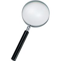 虫眼鏡 ルーペ B-2 リーディング用 プラ柄 75mm 2倍 75517 虫めがね 実験 検査 シンワ測定