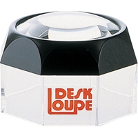 虫眼鏡 ルーペ M-1 デスク型 60mm 3.5倍 75529 虫めがね ペーパーウエイト 実験 検査 シンワ測定