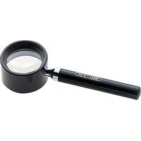虫眼鏡 ルーペ R-2 高倍率 柄付 28mm 10倍 75565 虫めがね 宝石鑑定 検査 シンワ測定