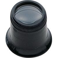 虫眼鏡 ルーペ T-3 精密作業用 アイルーペ 23mm 5倍 75572 虫めがね 時計見 検査 修理 シンワ測定