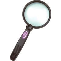 虫眼鏡 ルーペ A-4 リーディング用 75mm 2.5倍 75793 虫めがね 実験 検査 シンワ測定