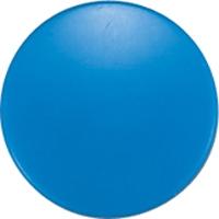 強力カラーマグネット ヨーク付 Φ20 青 6ヶ入 ビニ袋入 71826 マグネット 磁石 黒板 掲示 シンワ測定