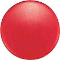 強力カラーマグネット ヨーク付 Φ30 赤 6ヶ入 ビニ袋入 71828 マグネット 磁石 黒板 掲示 シンワ測定