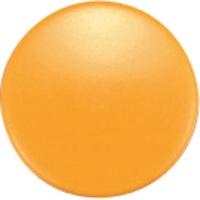 強力カラーマグネット ヨーク付 Φ30 黄 6ヶ入 ビニ袋入 71831 マグネット 磁石 黒板 掲示 シンワ測定