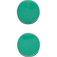 マグクリップ 丸型 A 緑 2ヶ入 72036 マグネット 磁石 黒板 掲示 シンワ測定