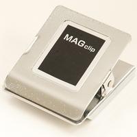 マグクリップ 角型 C (大) 72041 マグネット 磁石 黒板 掲示 シンワ測定