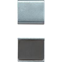 マグチップ ヨーク付 角型 E-2 23×26mm 2ヶ入 73502 マグネット 磁石 黒板 掲示 シンワ測定