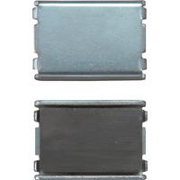 マグチップ ヨーク付 角型 E-3 30×44mm 2ヶ入 73503 マグネット 磁石 黒板 掲示 シンワ測定