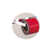 マグシート つやなし 10cm×10m0.8mm厚 赤ロール 74015 マグネット 磁石 黒板 ホワイトボード 掲示 店舗 シンワ測定