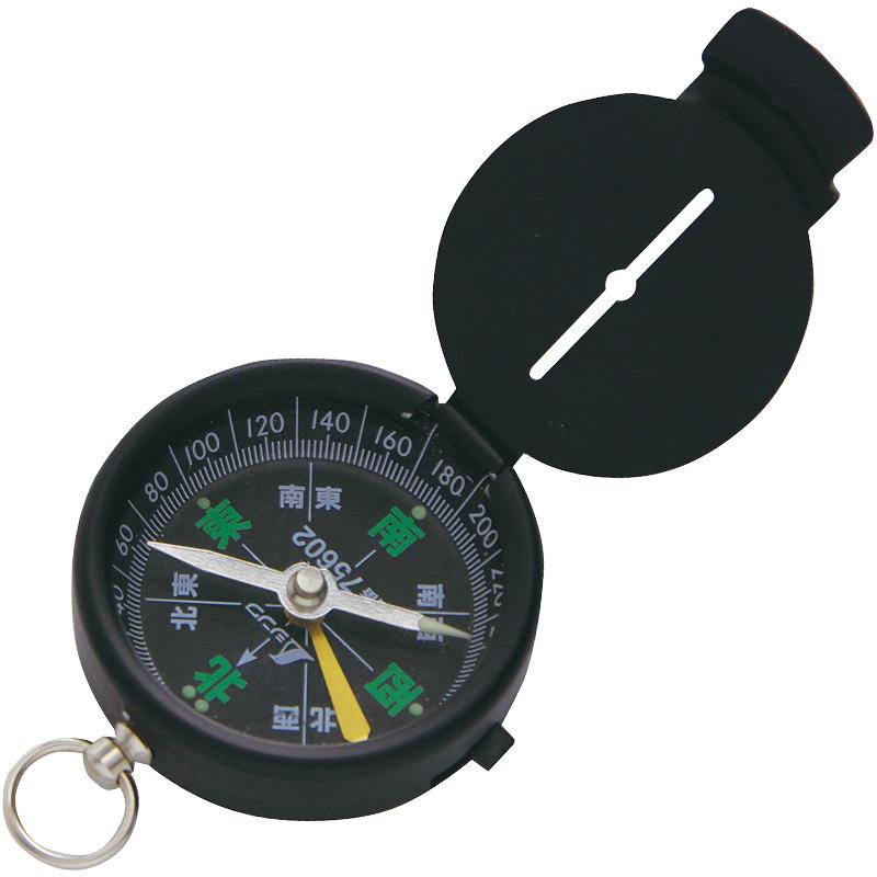 方向コンパス A-3 和文字 75602 シンワ測定 コンパス キャンプ レジャー 登山 方位磁針