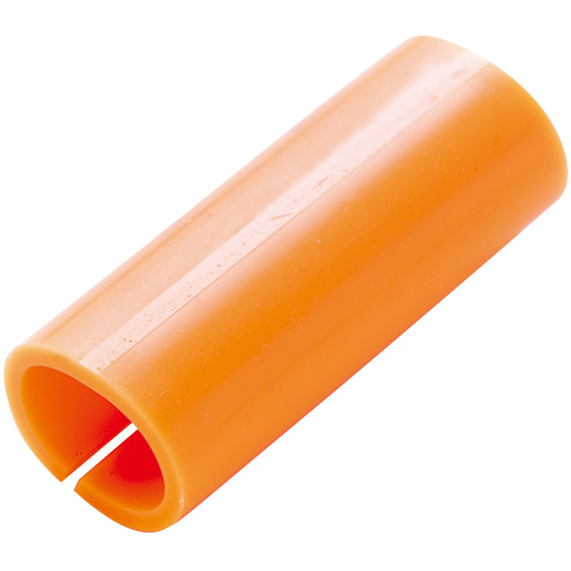鉄筋カラーマーカー オレンジ 10ヶ入 78530 シンワ測定 測量 測量用品 工事現場 マーカー