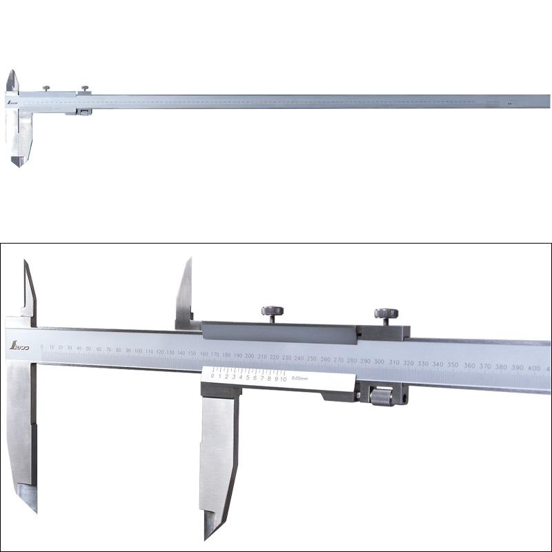普及ノギス 1000mm シンワ測定 19922 測定 測定工具 DIY おすすめ