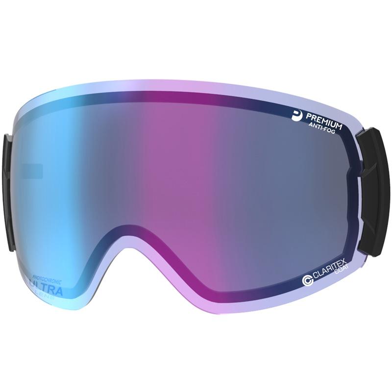 スキーゴーグル スペアレンズ LRV-4265 CUL ROVO用レンズ 調光 ULTRA ミラー 撥水 PAF レンズケース付き SWANS スワンズ 人気 おすすめ レディース メンズ
