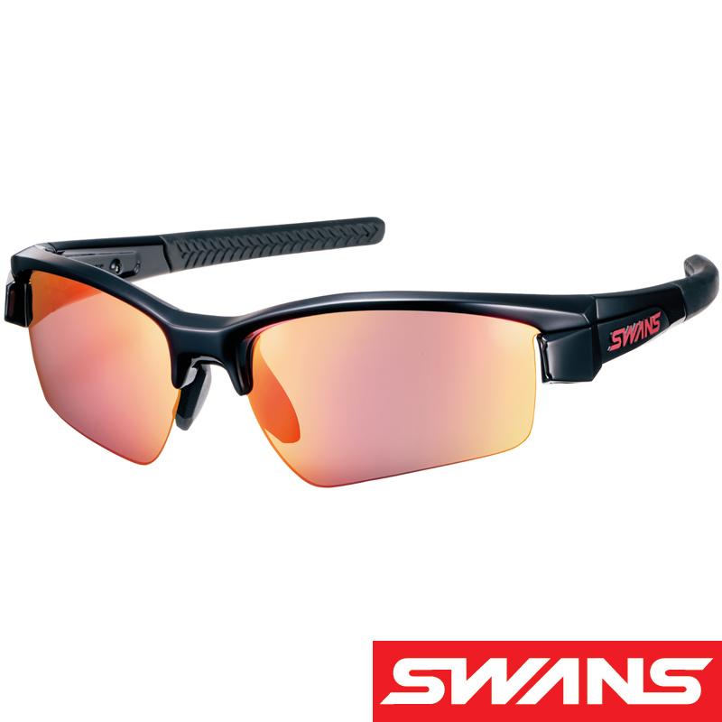 スポーツサングラス LION SIN[ライオン シン] ミラーレンズ LI SIN-1701 UV 紫外線カット サングラス メンズ おすすめ 人気 SWANS スワンズ