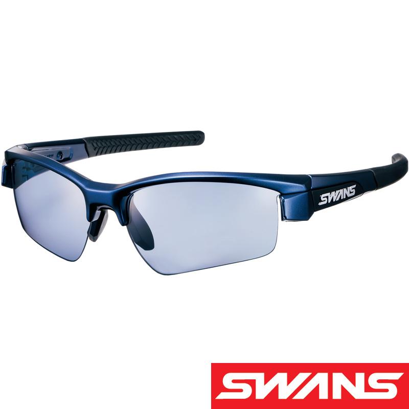 両面マルチ偏光 スポーツサングラス LION SIN[ライオン シン] UVカット LI SIN-0167 MEBL UV 紫外線カット サングラス メンズ 偏光レンズ おすすめ 人気 SWANS スワンズ