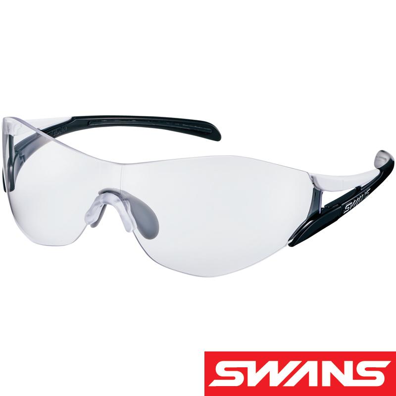スポーツサングラス クリア SOU-II レギュラーサイズ SOU2-0012 双 UV 紫外線カット サングラス メンズ おすすめ 人気 SWANS スワンズ