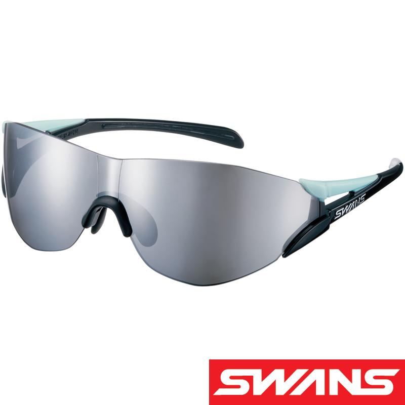 スポーツサングラス SOU-II-C コンパクトサイズ ミラーレンズ SOU2C-0701 UV 紫外線カット サングラス レディース 小さめ おすすめ 人気 SWANS スワンズ