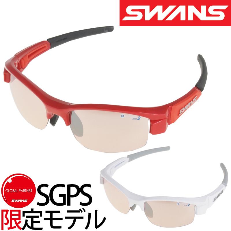 [SGPS限定モデル]スポーツサングラス LION-Compact シルバーミラー×ライトピンク 撥水 L-LIC-3609 ミラーレンズ?サングラス レディース 子供用 紫外線 UVカット 小さめサイズ ゴルフ おしゃれ SWANS スワンズ
