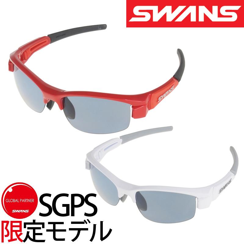 [SGPS限定モデル]偏光サングラス LION-Compact 偏光アイスブルー 偏光レンズ L-LIC-0067 サングラス レディース 子供用 紫外線 UVカット 小さめサイズ ゴルフ おしゃれ SWANS スワンズ