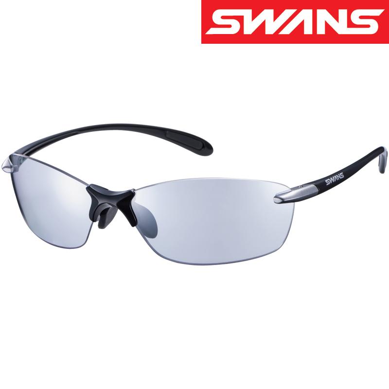 スポーツサングラス Airless Leaffit エアレス・リーフフィット ミラーレンズ SALF-0715 UV 紫外線カット サングラス メンズ おすすめ 人気 SWANS スワンズ