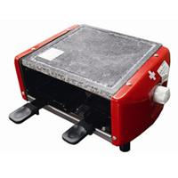 ラクレットグリル 4人用 ヌーベル 3役便利調理器具 石焼グリル 電熱グリル スイス チーズ ラクレット 石焼 ラクレットオーブン 家庭用 家庭用 調理器 Raclette grill for 4 persons stone