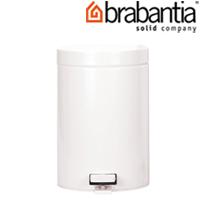 ペダルビン ホワイト3L 10934-8 brabantia ごみ箱 ゴミ ダストボックス インテリア雑貨 ブラバンシア