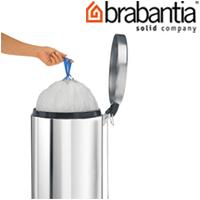 ペダルビン各サイズ専用ゴミ袋 F 20Lスリム用 24530-5 brabantia  ごみ袋 ゴミ ペダルピン インテリア雑貨 ブラバンシア