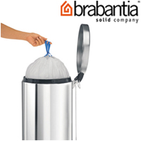 ペダルビン各サイズ専用ゴミ袋 H 50L用 24678-4 brabantia ごみ袋 ゴミ ペダルピン インテリア雑貨 ブラバンシア