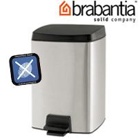 レクタングラーペダルビン 10L FPPマット 46180-4 brabantia ごみ箱 ゴミ ペダルピン ダストボックス インテリア雑貨 ブラバンシア