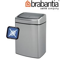 レクタングラータッチビン 10L FPPマット 47722-5 brabantia  ごみ箱 ゴミ ダストボックス インテリア雑貨 ブラバンシア