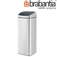 レクタングラータッチビン 25L クローム 38490-5 brabantia  ごみ箱 ゴミ ダストボックス インテリア雑貨 ブラバンシア