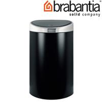 タッチビン 40L ブラック/マット 37876-8 brabantia  ごみ箱 ゴミ ダストボックス インテリア雑貨 ブラバンシア