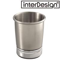 インターデザイン メタルタンブラー 76150-1 インターデザイン コップ ステンレス タンブラー 洗面用具