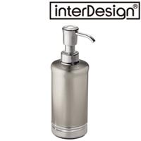 インターデザイン メタルソープポンプ 76350-5 インターデザイン 詰め替え容器 ポンプ シャンプー お風呂用品 バス用品 洗面台 ハンドソープ入れ
