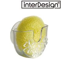 インターデザイン Blumz サクション スクラブホルダー 25360-0 インターデザイン シンク 流し台 キッチン用品 お風呂 バス用品 スポンジ入れ キッチン雑貨