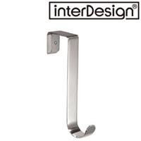インターデザイン Formaオーバードアー シングルフック つや消しステンレス 84000-8  インターデザイン フック ドアにかける 整理 収納 クローゼット