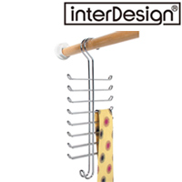 インターデザイン バーティカルタイ・ベルトラック 06560-9  インターデザイン フック 収納 かける 整理 ネクタイ ベルト ラック