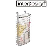 インターデザイン オーバーキャビネット バッグホルダー 56570-3 インターデザイン 収納 レジ袋 袋入れ かける キッチン キッチン雑貨 キャビネット 整理