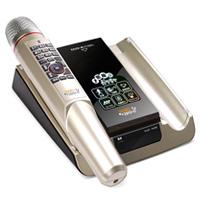 ファミリーコンサート マイク1本付け TKM-370J 家庭用 カラオケセット 採点 健康体操 SDカード対応