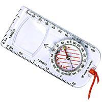 方位磁石 目盛読みレンズ付き マップコンパス 126SR オイルコンパス コンパス キャンプ レジャー 登山 方位磁針
