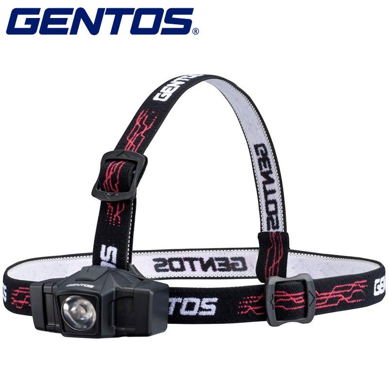 GENTOS コンパクトヘッドライト 002D GD-002D ヘッド ジェントス ヘッドライト 懐中電灯 防災 照明